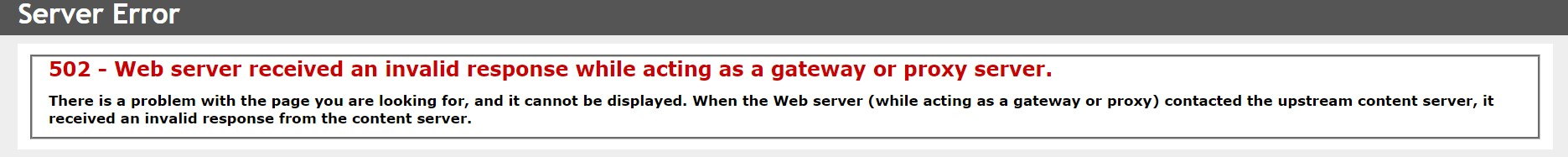 Exchange 2010 OWA error HTTP 500