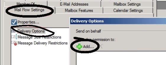 Send On Behalf